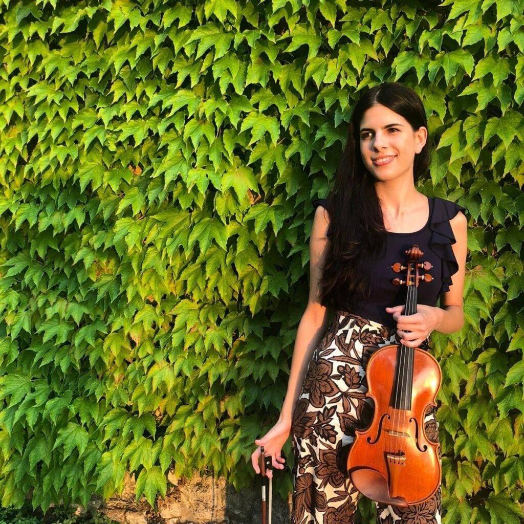 Marianna Rava maestro di violino a Bologna